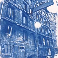 El Cancan, Bordeaux, 20x20
