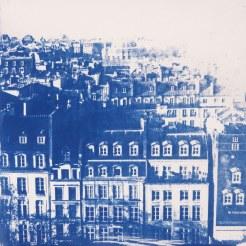Les toits de la Capitale, Paris, 20x20
