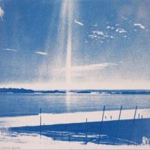 Lumière d'été, St Cast, 20x20