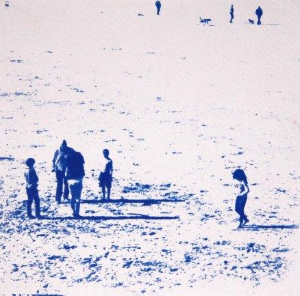 L'instant T, plage St Lunaire, 15x15